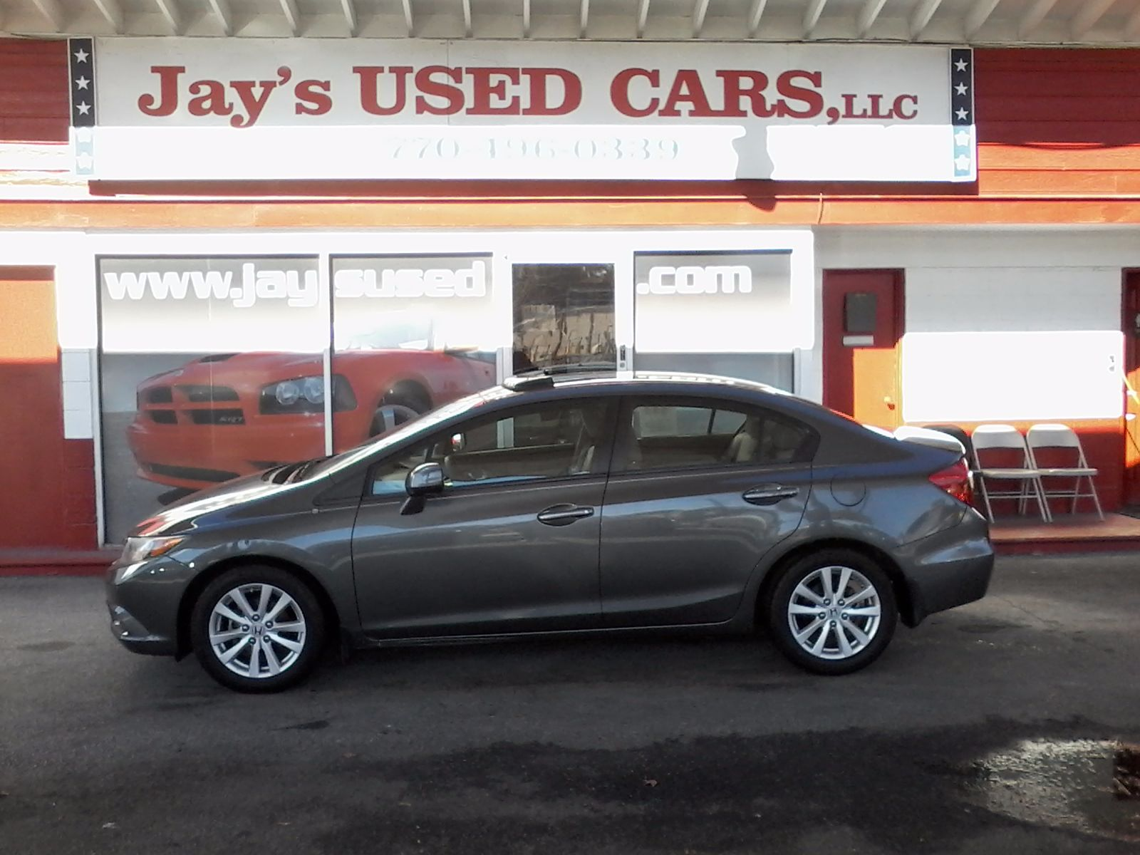 Photos of a Used 2012 Honda Civic Sdn EX at Jay\'s Used Cars LLC