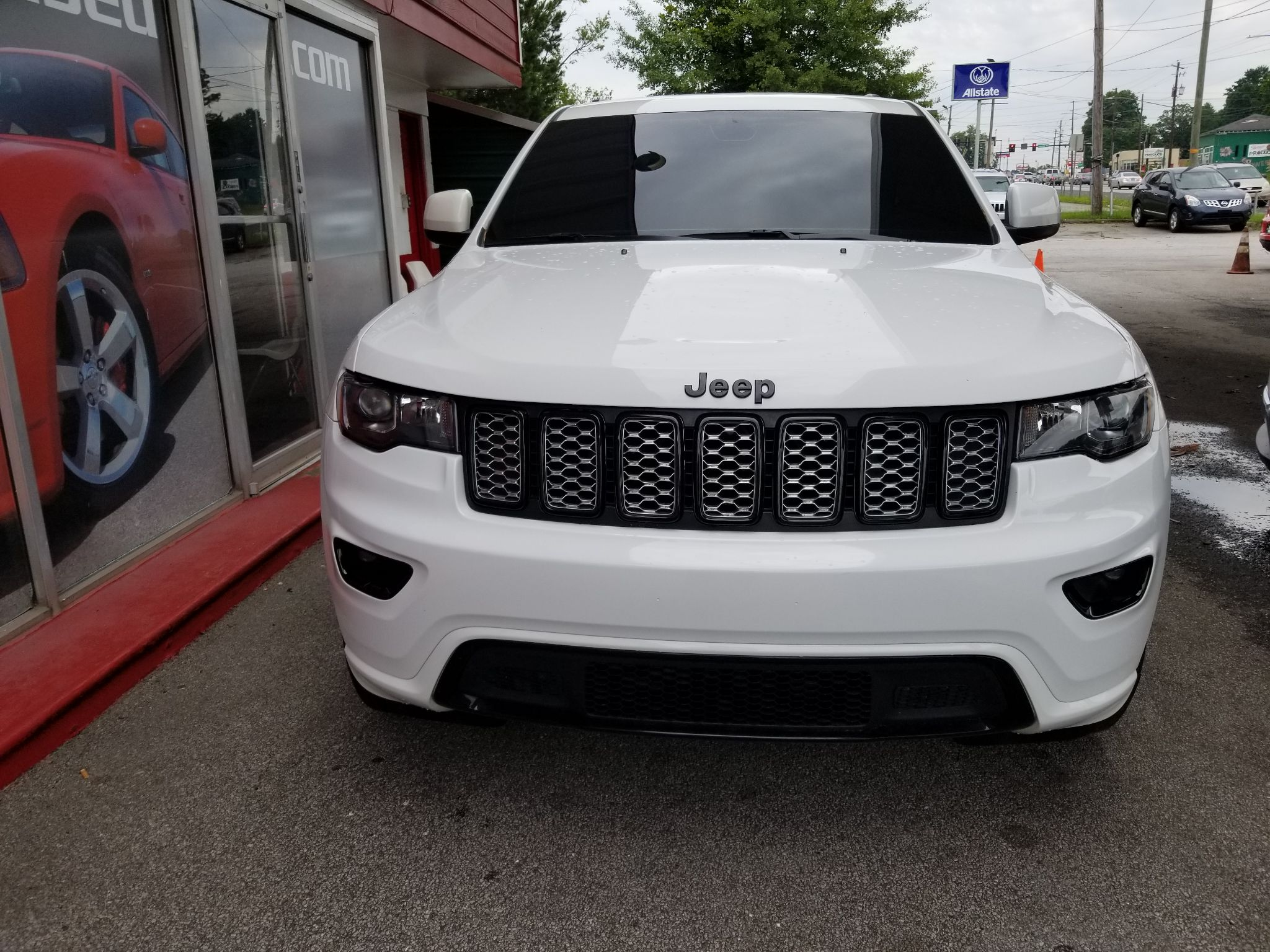 s of a Used 2017 Jeep Grand Cherokee Altitude at Jay s Used